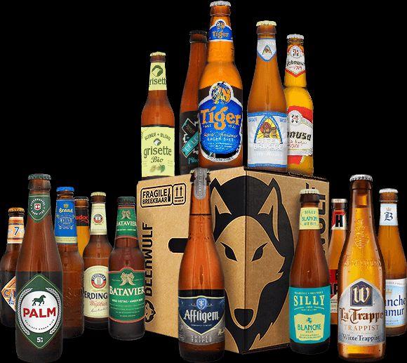 Beerwulf bier pack 16 voor 19,95 gratis bezorging