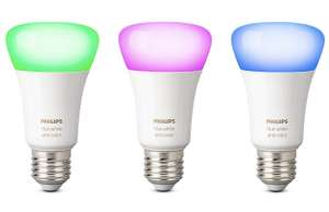 Philips HUE E27 White & Color 3-pack @Amazon.de