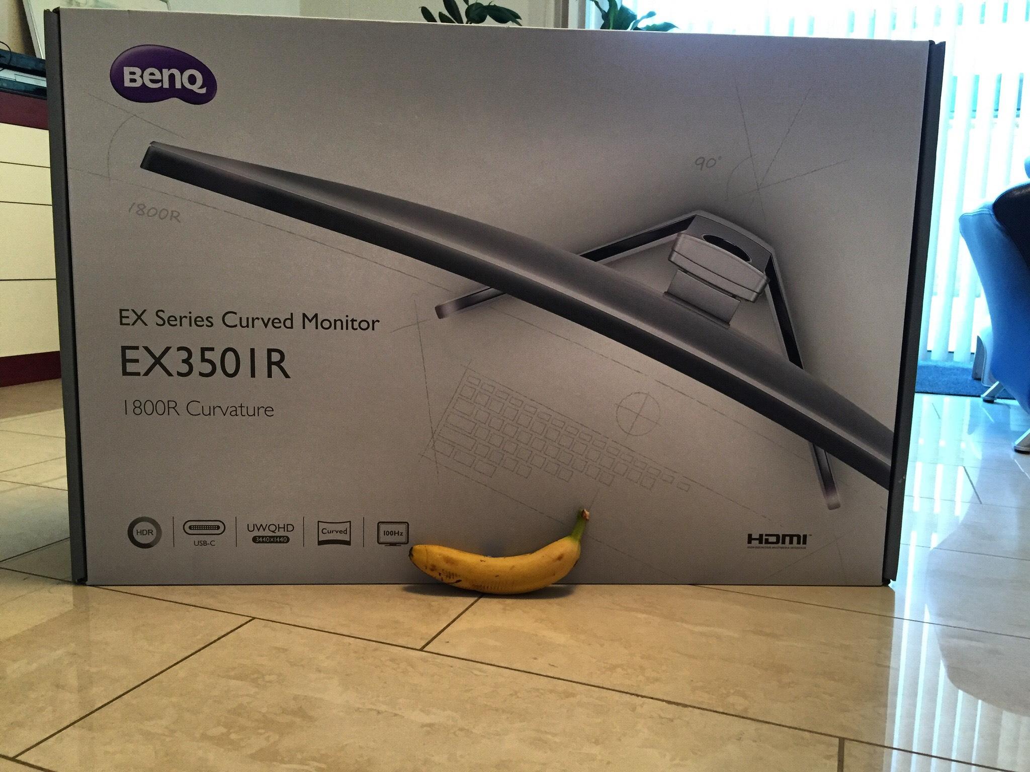 Benq EX3501R nieuwe laagste prijs