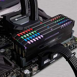 Corsair Vengeance RGB 16GB (2 x 8GB) DDR4 2666MHz C16 XMP 2.0 Enthusiast RGB LED