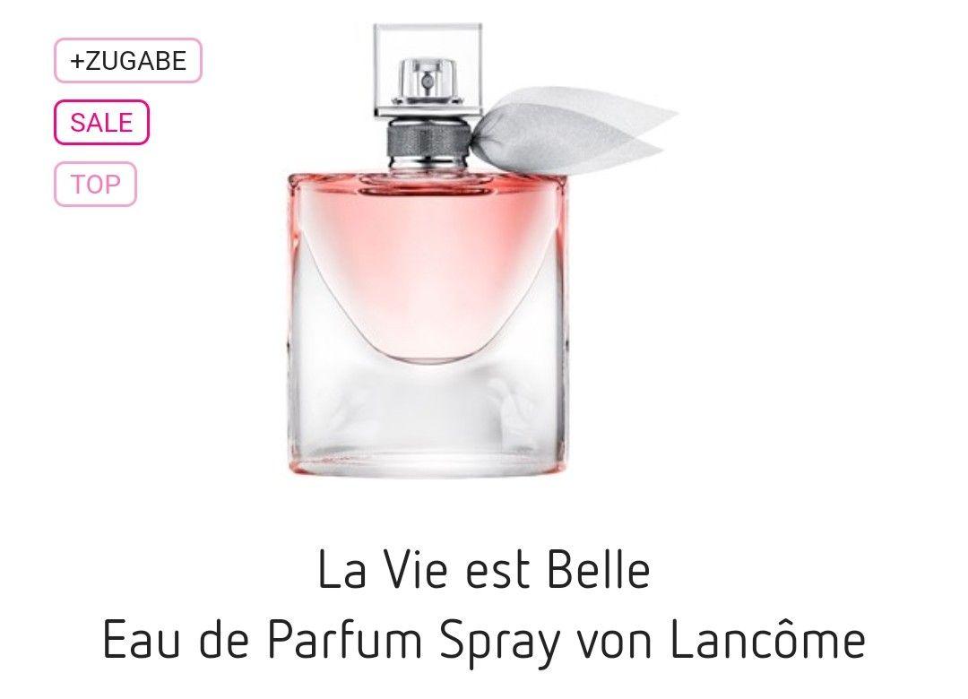 €59,95 incl. Verzending (met kortingscode) 100ml Lancome La vie est belle