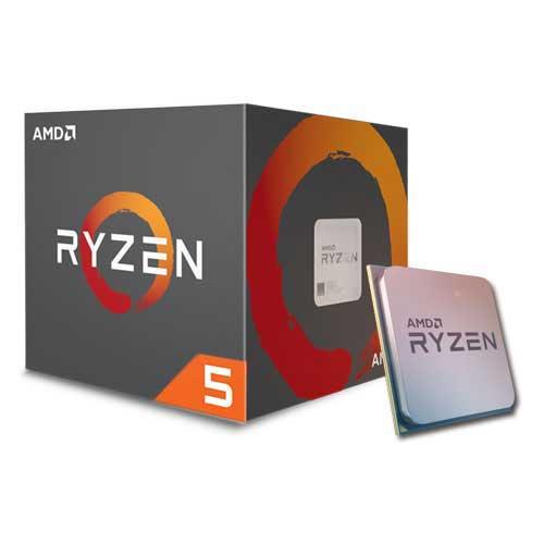AMD Ryzen 5 1400 Boxed met Wraith Stealth koeler