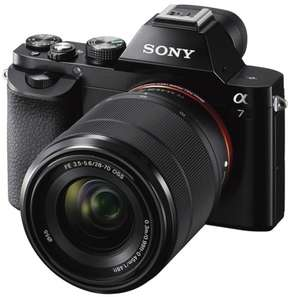 [Dagdeal] Sony A7 Full-Frame camera incl. 28-70mm lens voor €807,42 @ Amazon.co.uk