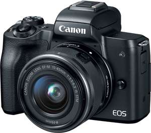 [Dagdeal] Canon EOS M50 incl. 15-45mm lens voor €552,48 @ Amazon.co.uk