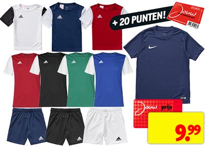 Nike en Adidas sportkleding bij Kruidvat