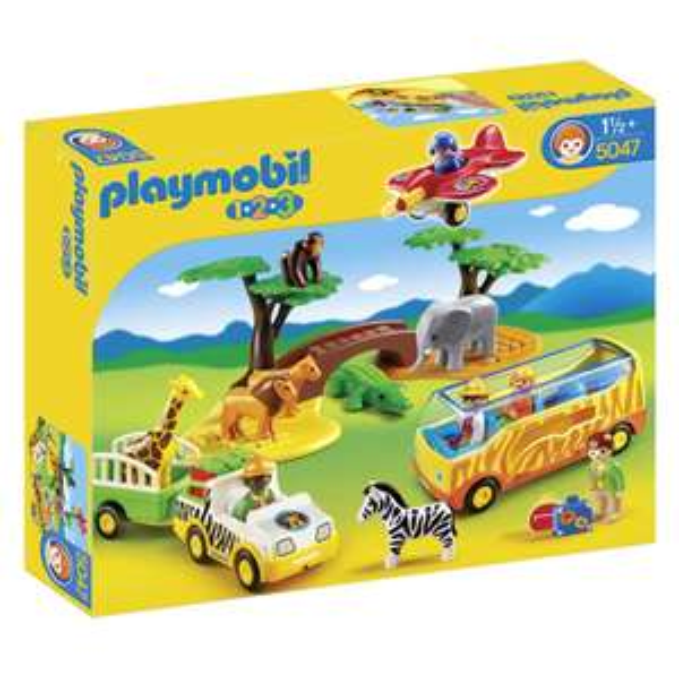 Playmobil 1.2.3 Safari (5047) voor €33 na code @ Bart Smit
