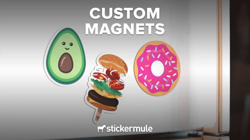 Sticker mule 50  magneten voor 26 euro