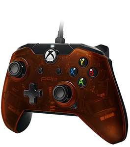 PDP Xbox One/Windows 10 Wired Controller Oranje @ Amazon.de