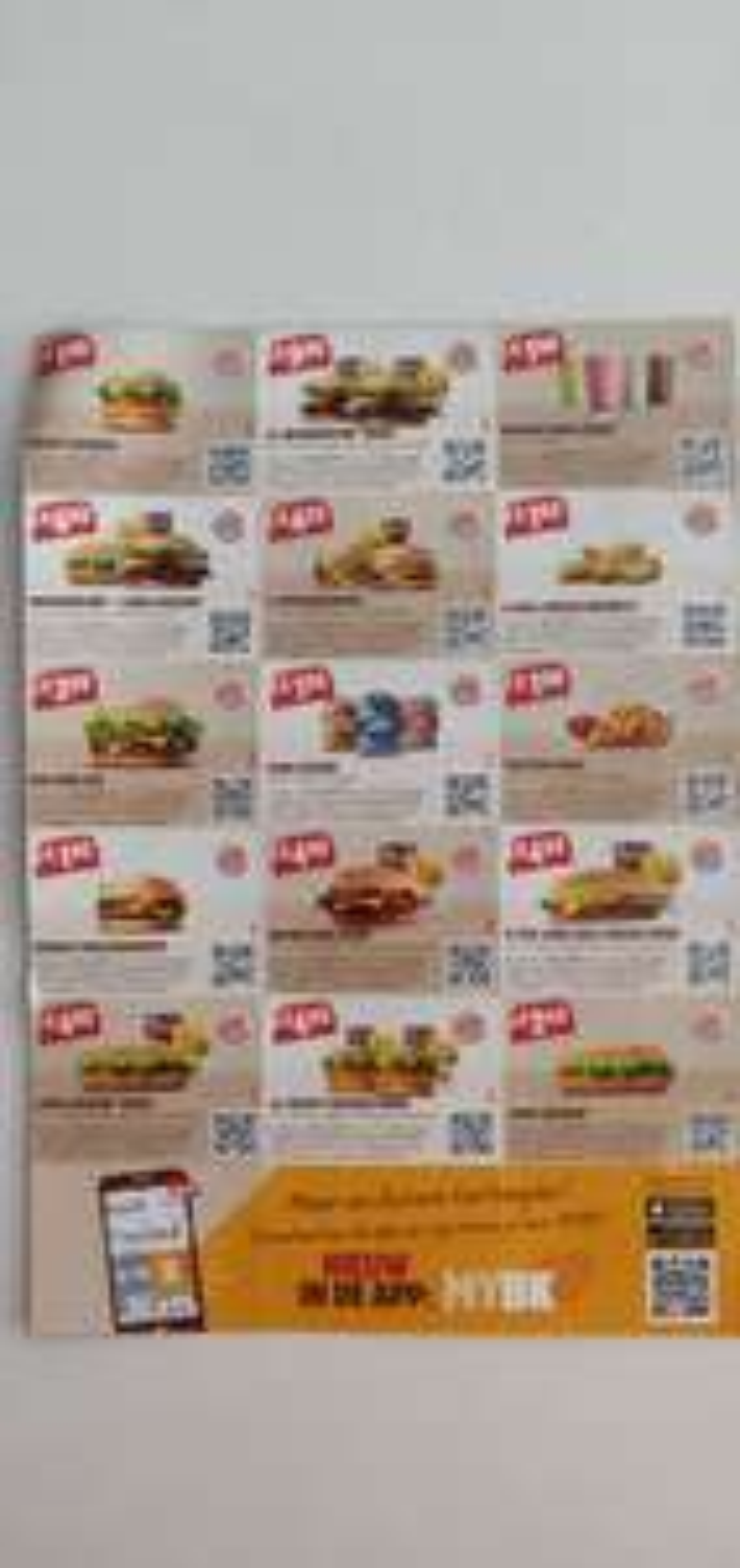 King  coupons op diverse producten