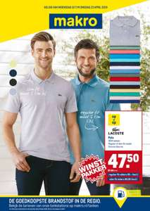 Lacoste Polo Regular of Slim fit @makro €57.48 inclusief btw