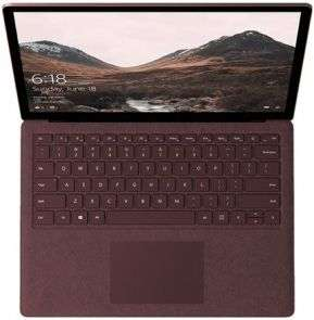 "Microsoft Surface Laptop - Core i7 7660U / 2.5 GHz - 8GB - 256GB SSD - 13.5"" touch screen"