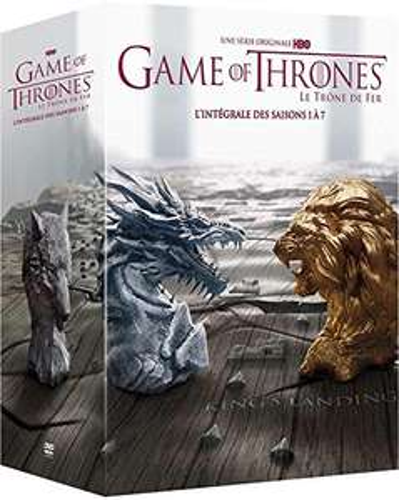 Game of thrones seizoen 1-7 voor nog geen 45 euro incl. verzenden