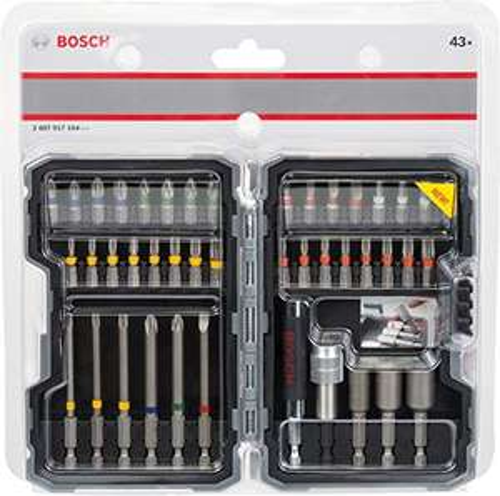 Bosch 43 delig bitset met universeelhouders  %Deal vd dag%