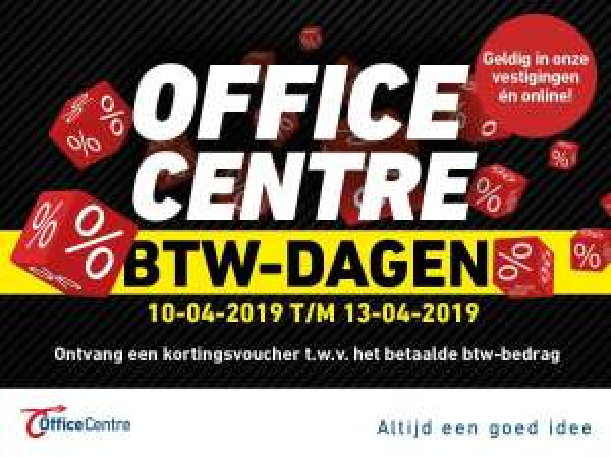 Btw korting bij Office Centre