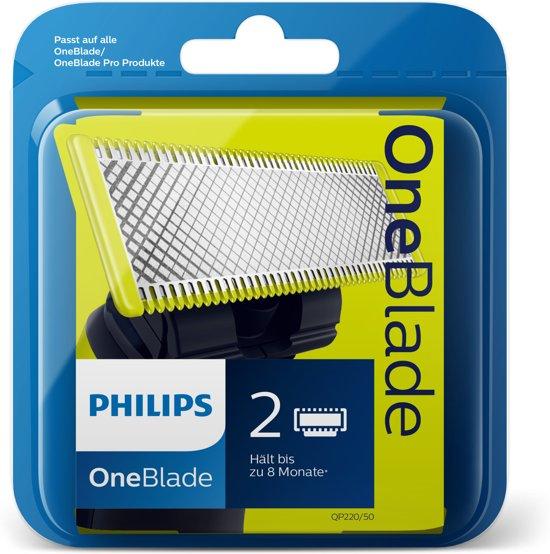 50% korting op een mesje voor je Philips OneBlade