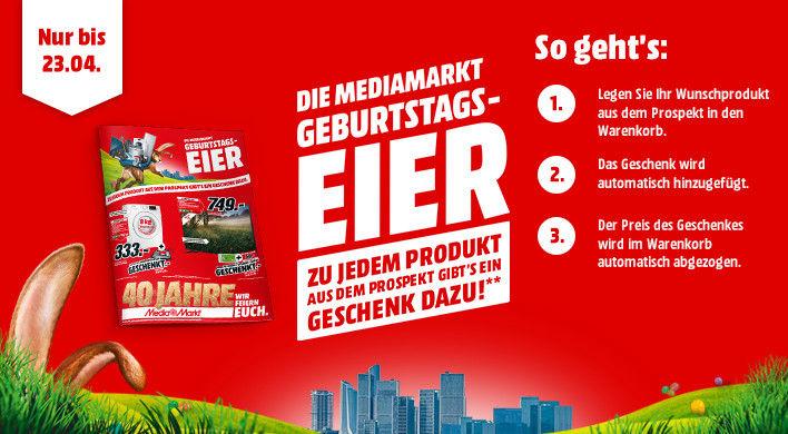 [Grensdeal DE] Gratis product of cadeaubon bij verschillende aanbiedingen @ Mediamarkt.de