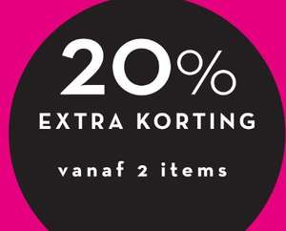 Sale tot -80% + 20% extra (va 2 items) @ Miss Etam