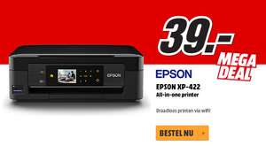 Epson Home XP-422 all-in-one Printer voor €39 @ Media Markt