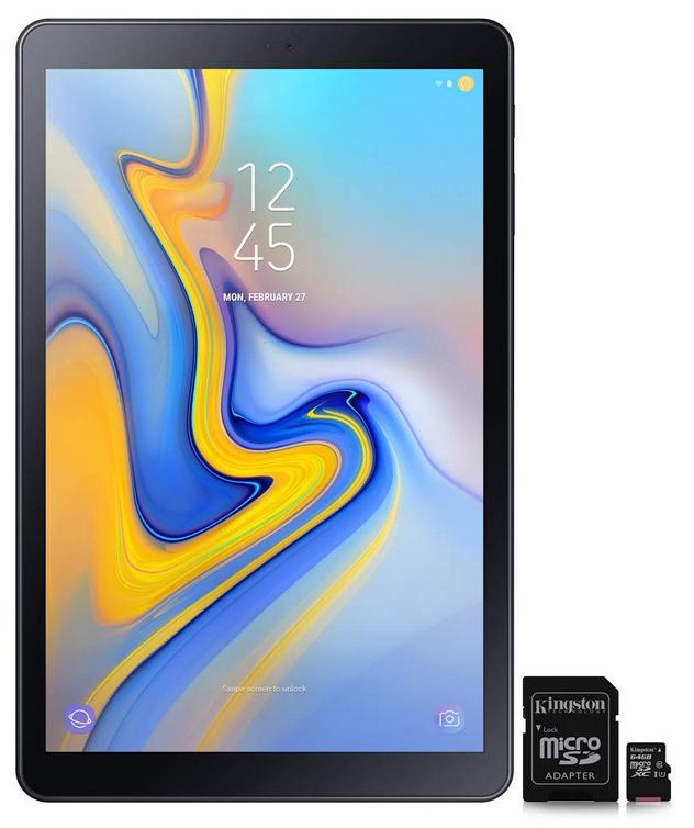 Dagdeal: Samsung 10.5 inch tablet.(2018). 3GB+32GB. 189eur. -19%. gratis 64GB SD card erbij.
