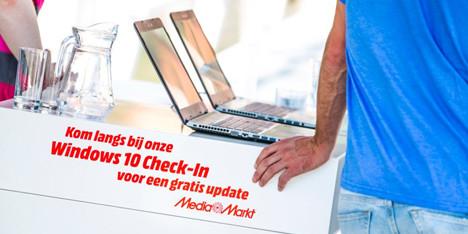 Windows 10 gratis laten installeren op je laptop (vanaf woensdag) @ Media Markt