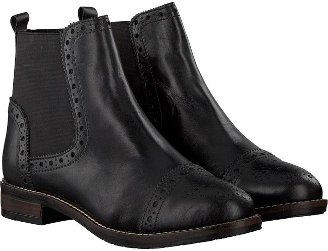 Dune leren dames chelsea boots -69%@ Wehkamp