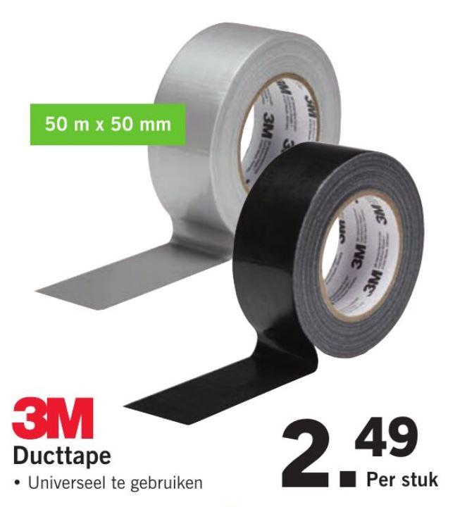 3M Ducttape 50mm x 50m @Lidl