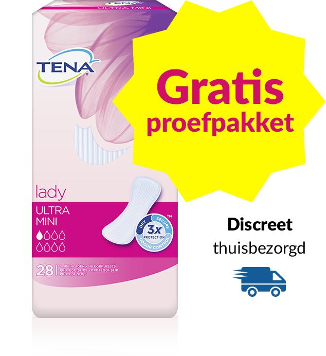 Gratis proefpakket TENA Lady