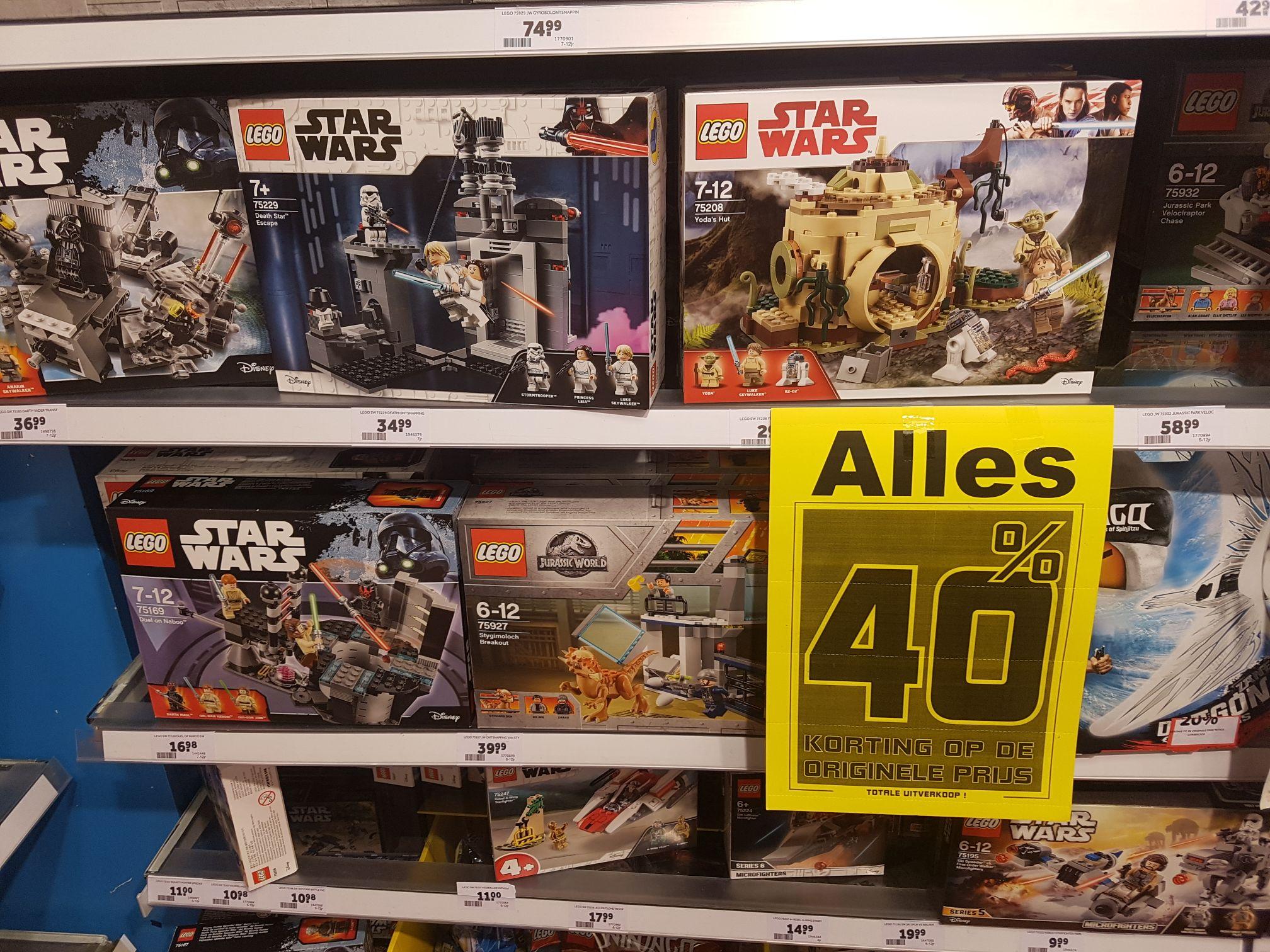 Intertoys Volendam uitverkoop - tot 60% korting op speelgoed!