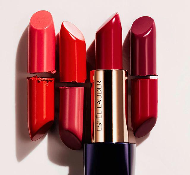 Gratis FULL SIZE Pure Color Envy lipstick in de kleur Intense Nude bij aankoop van een lipstick!
