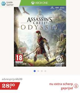 Assassin's Creed Odyssey voor Xbox One en PS4 €28 || Bol.com