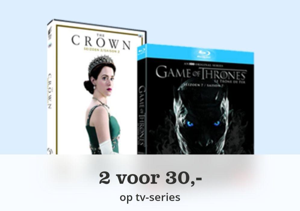 2 seizoenen tv-series voor maar €30,00 || Bol.com