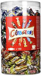 1,4 kilo Celebrations (160 stuks) @Amazon.de