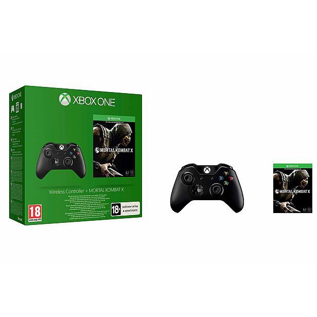 Xbox One Wireless Controller + Mortal Kombat X voor €58,22 @ Wehkamp