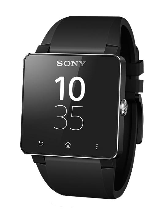 Sony Smartwatch SW2 Black voor €49 @ Typhone