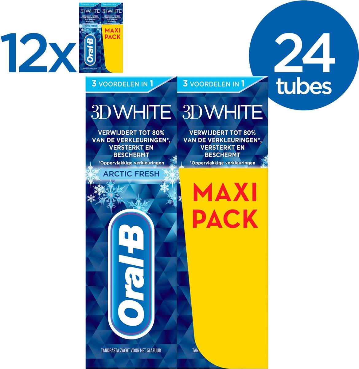Oral-B tandpasta voordeelverpakking 24x75ml voor €23,94 @ Bol.com