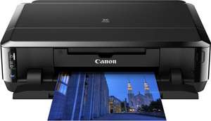 Tot -50% op HP+Canon printer/scanners oa Canon PIXMA iP7250