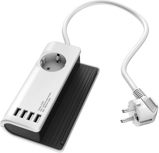 Hama USB docking stand (4 USB poorten/4800 Mah) voor €11,99 @ Bol.com