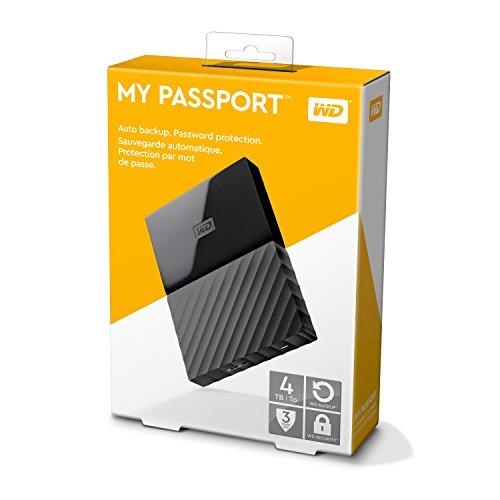 WD My Passport 4TB externe harde schijf @ Amazon.de