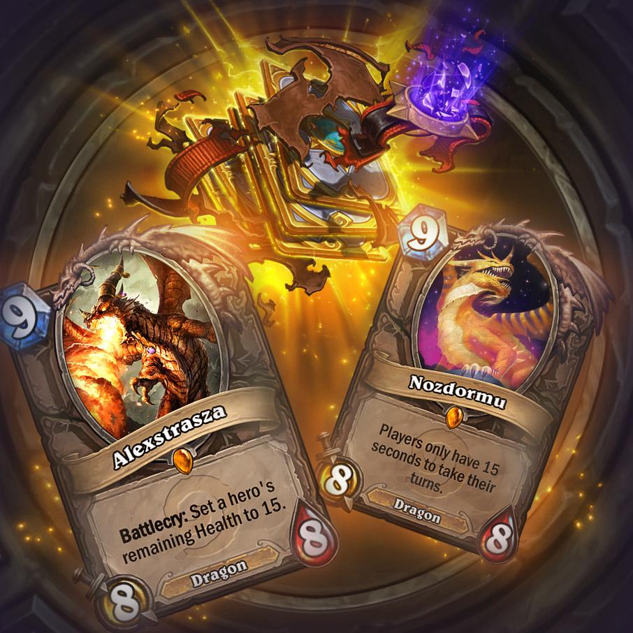 Gratis 2 gouden kaarten en 2 Boomsday packs voor Hearthstone @ Blizzard