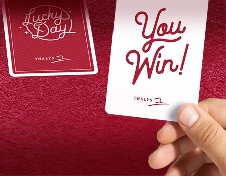 """""""LUCKY DAY"""" AANBIEDING - 'Win uw reis naar Antwerpen' - Kans 1 op 2 @Thalys"""