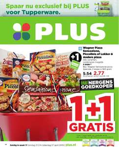 Plus: Wagner Pizza Sensazione, Piccolinis of Lekker & Anders Pizza 1+1