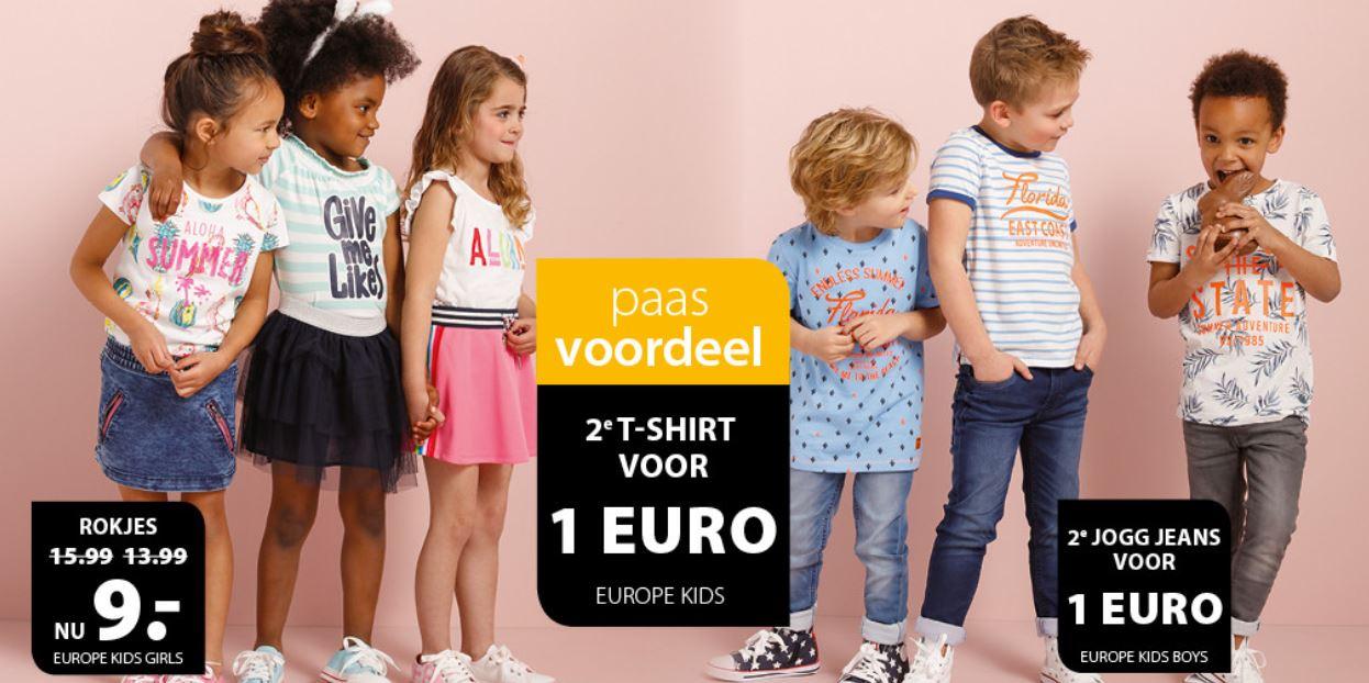 2e T-shirt en/of jog jeans €1 + 15% extra (va €50) @ terStal