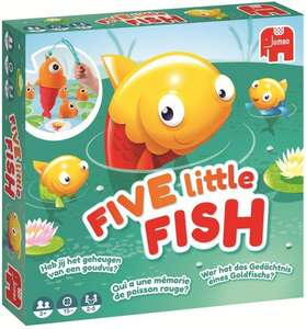 82% korting | Jumbo Five Little Fish €4,99 (i.p.v. €26,99) @Bol