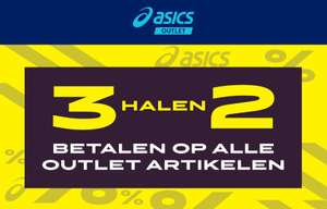 Alles 3 = 2 @ Asics Outlet