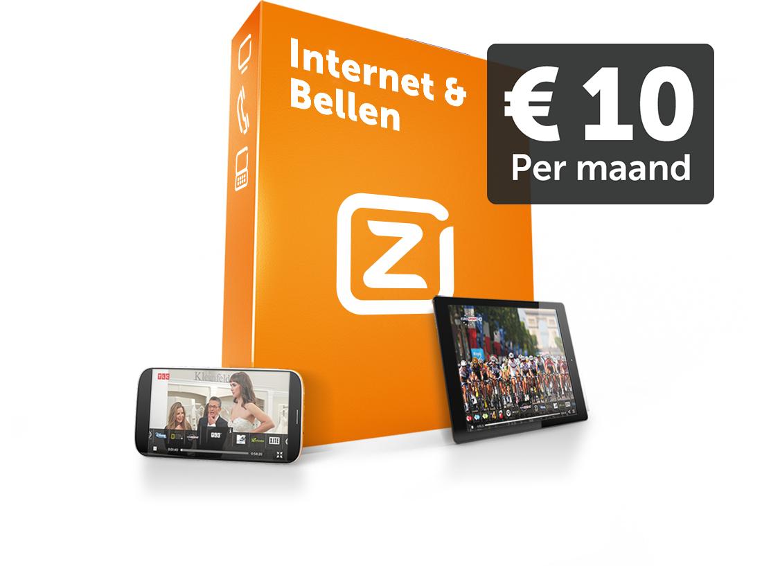 Internet (25 Mbit/s) en vast bellen voor maar €10 per maand @ Ziggo