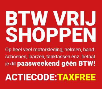 BTW-vrij shoppen bij MotorkledingOutlet.nl