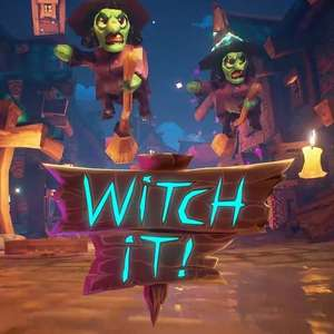Witch It! multiplayer verstoppertje-game gratis weekend @ Steam