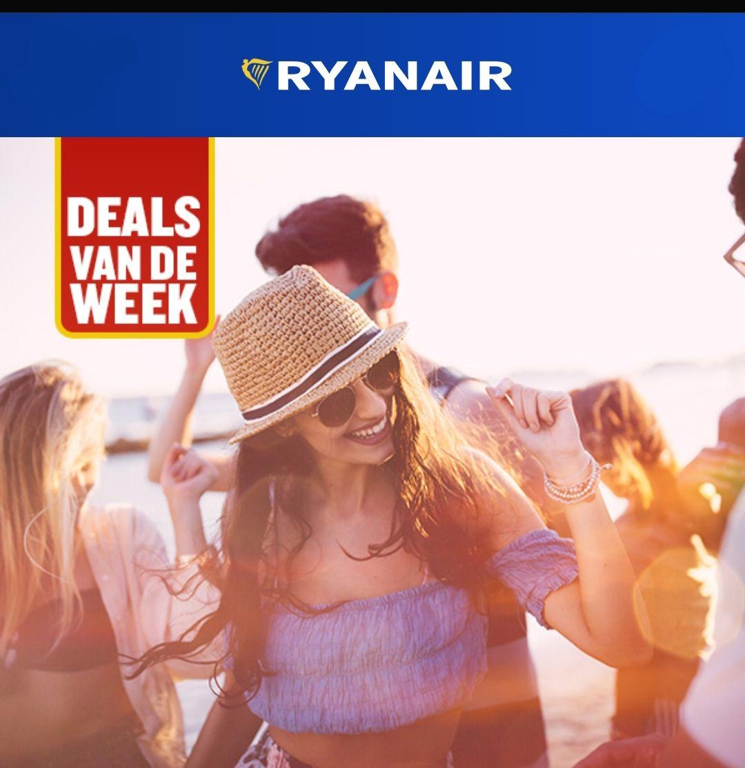 Vliegen naar Londen voor 9,99 @RyanAir
