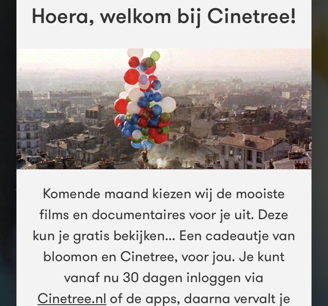 Kijk gratis nieuwe Cinetree