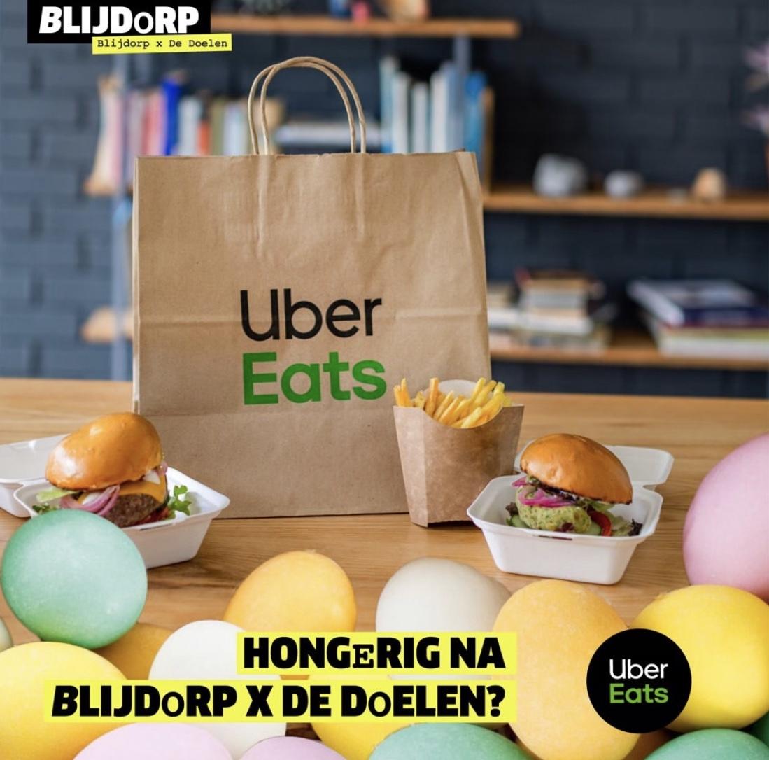 Uber Eats 7,50€ korting in Rotterdam (lokaal)